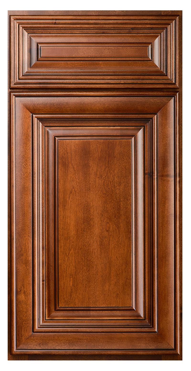 Raised Panel Chocolate Glaze Door
