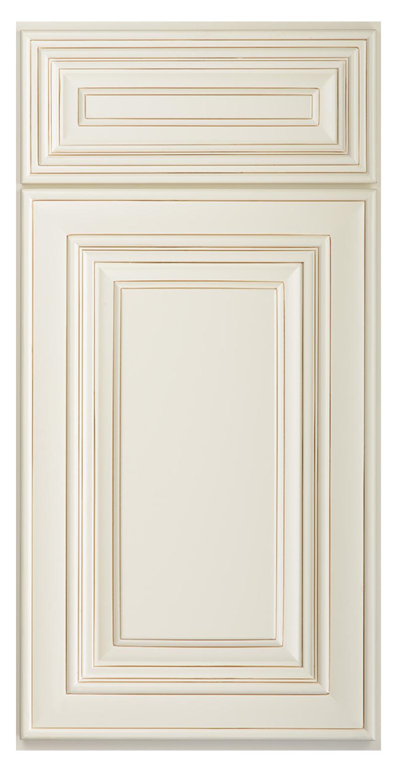 Raised Panel Door Off White Glazed